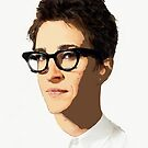 Rachel Maddow by #PoptART products from Poptart.me