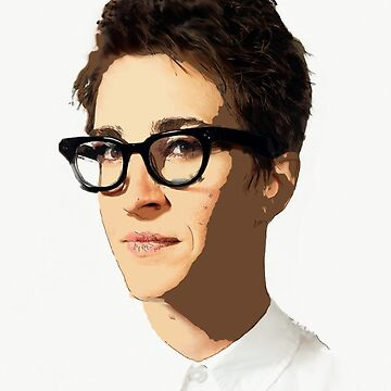 Rachel Maddow [Mixed Media] #Maddow10Years  by michaelroman