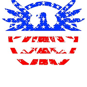 US Independence Day Grunge Style by 3js-unlimited