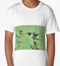 Hummingbird & Cigarette Plant Long T-Shirt