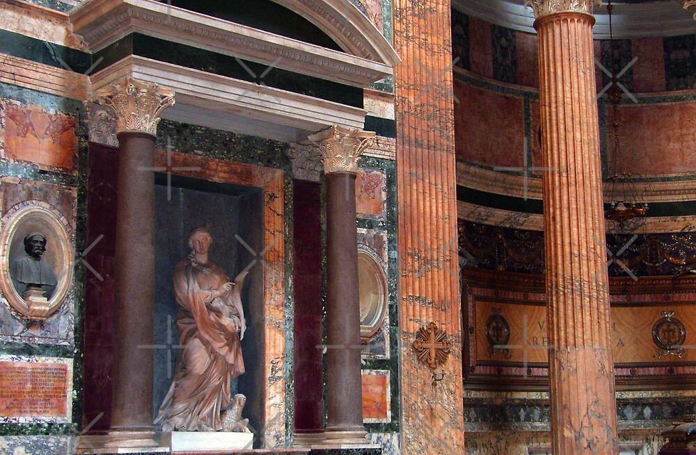 Pantheon Interior by Tom Gomez