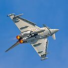 Eurofighter Typhoon FGR.4 ZK352/BV barrel rolling by Colin Smedley