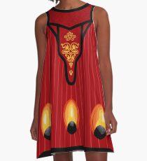 The Regal Gown A-Line Dress