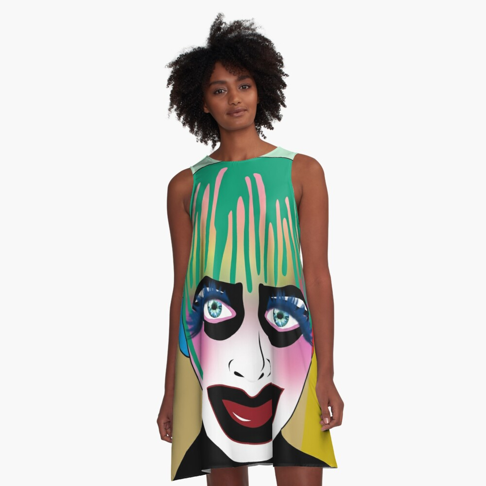 leigh bowery A-Line Dress Front