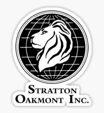 Stratton Oakmont Inc. Sticker
