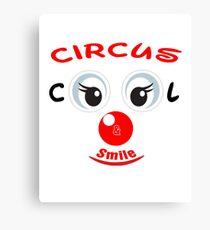Cool and smile Canvas Print