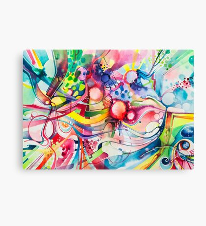 Nice Clowns You Got There - Watercolor Canvas Print