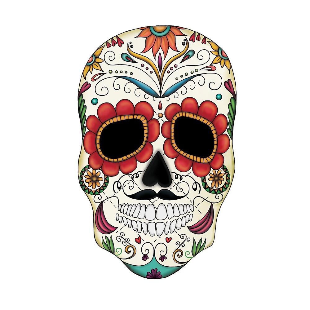 Sugar Skull Fun by Beaglebug
