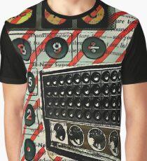 geeky nerdy retro calculator vintage shortwave radio  Graphic T-Shirt