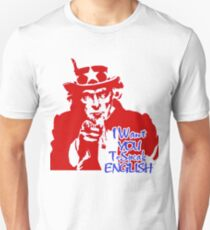 Independence Day T Shirt For 4th of July 2017 Speak English Unisex T-Shirt