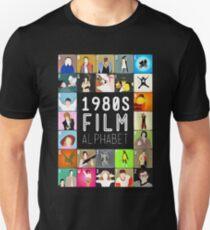 1980's Film Alphabet Unisex T-Shirt