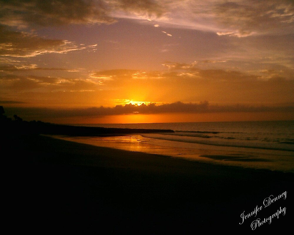 Sunset Over Edisto by photog4