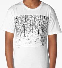 Retro forest Long T-Shirt