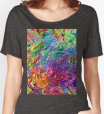 This Page Intentionally Left Blank - Digital Art & Painting Women's Relaxed Fit T-Shirt