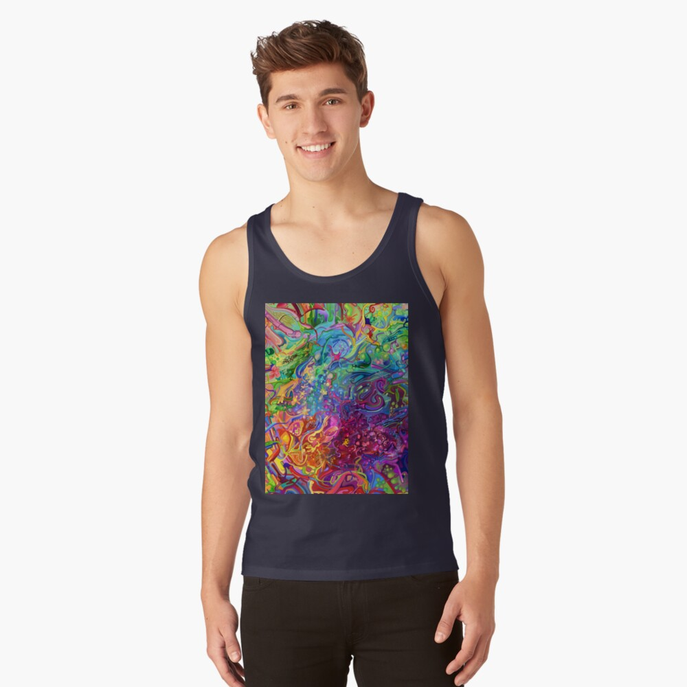 This Page Intentionally Left Blank - Digital Art & Painting Tank Top