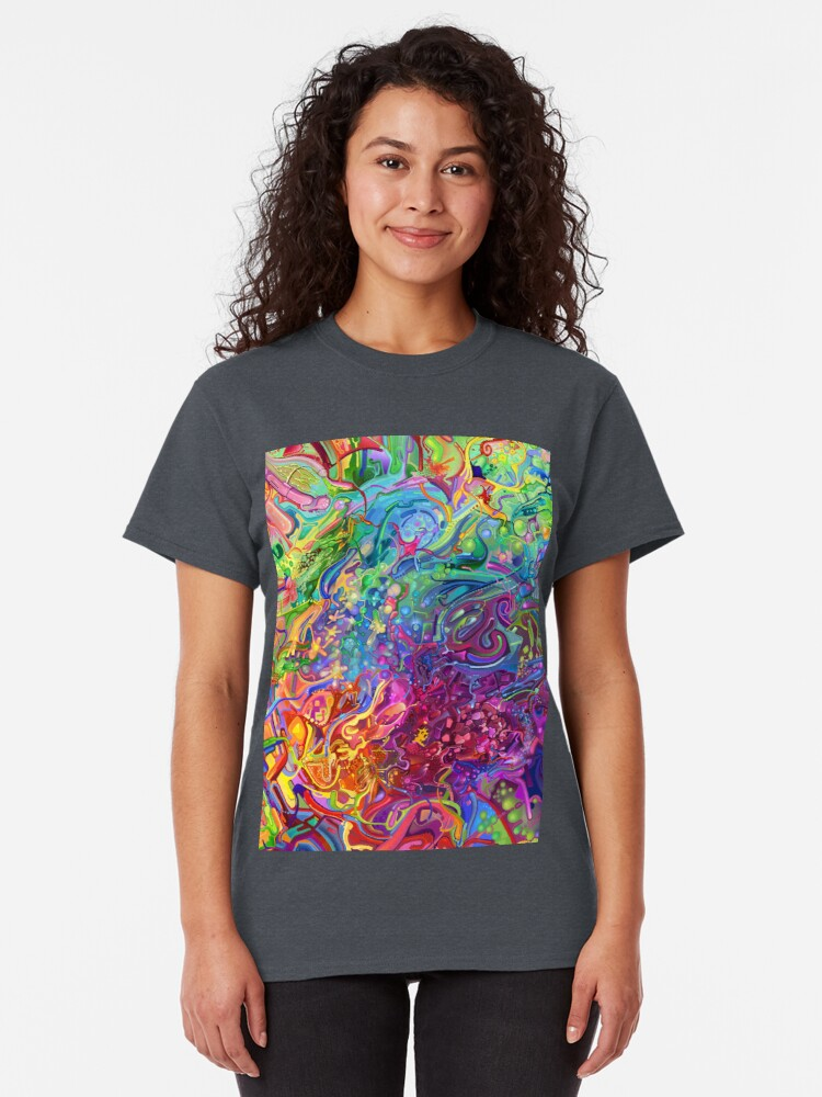 Alternate view of This Page Intentionally Left Blank - Digital Art & Painting Classic T-Shirt