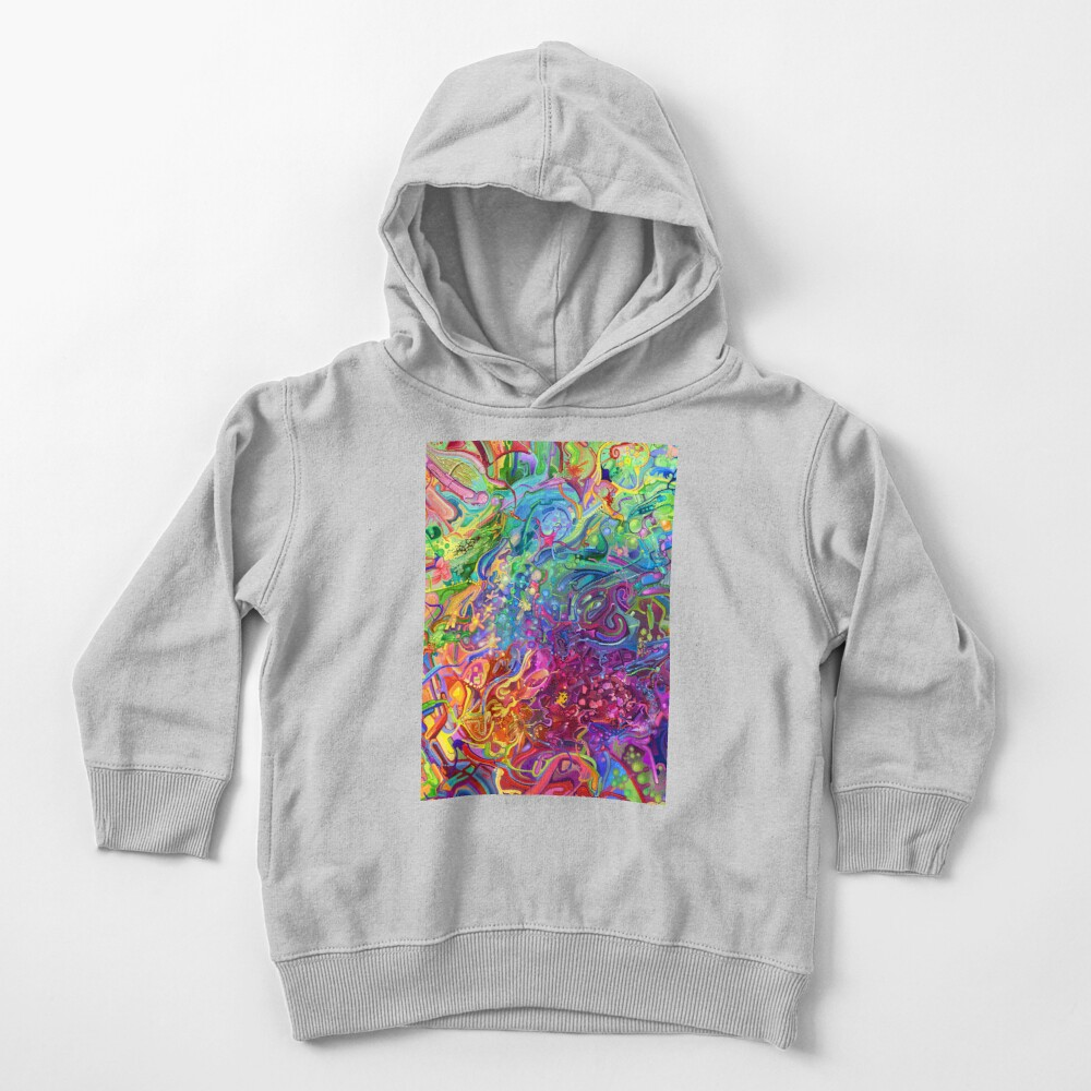 This Page Intentionally Left Blank - Digital Art & Painting Toddler Pullover Hoodie
