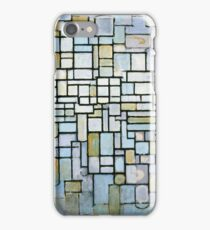 Composition in Blue Gray and Pink Piet Mondrian, 1913 iPhone Case/Skin