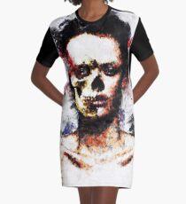 Half 01 Graphic T-Shirt Dress