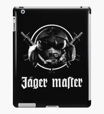 Your favourite peeking German iPad-Hülle & Klebefolie