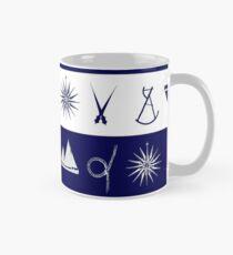 nautical scatter 2 by tony fernandes Mug