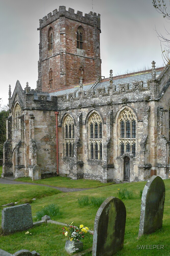North Somerset church by SWEEPER