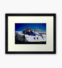 SRF Race Car 'Vintage Can Am' I Framed Print