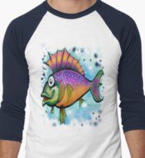 Fishy Men's Baseball ¾ T-Shirt