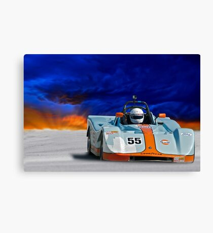 SRF Race Car 'Vintage Can Am' II Canvas Print