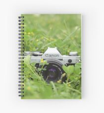 Canon and Clover Spiral Notebook