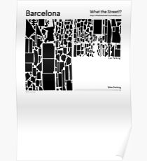 What the Street!? Barcelona! Poster