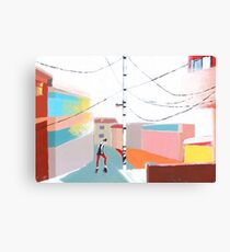 Dancing in the Street Canvas Print
