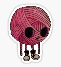 Yarn Kid Sticker