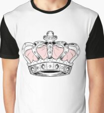 Crown - Pink Graphic T-Shirt
