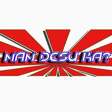 Nan desu ka? (what is it?) by illpilldesign