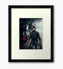 Joel - The Last of Us Framed Print