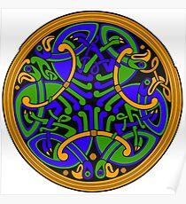 Celtic Knotwork Poster