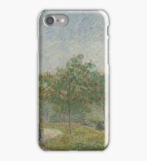 Garden with Courting Couples, Square Saint-Pierre Paris, May 1887 Vincent van Gogh (1853 - 1890) iPhone Case/Skin