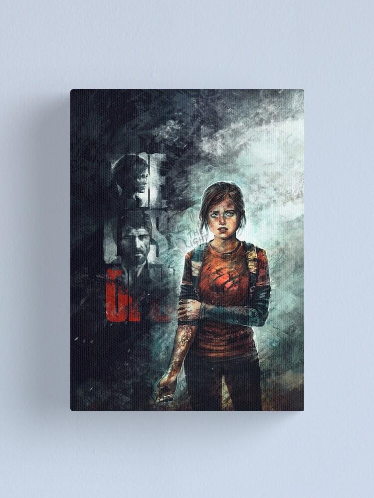 Ellie The Last Of Us Canvas Print