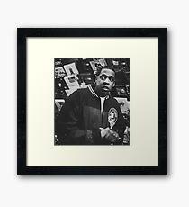 Jay Z. Framed Print