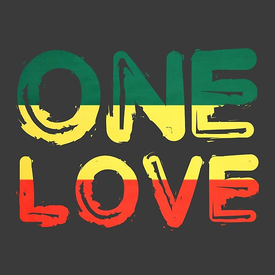 One Love Reggae Peace Weed Rasta Chill Stoner Quote Posters By Impressive Rasta Baby Quotes