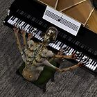 Very Talented Piano Player by Mythos57