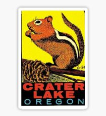 Crater Lake National Park Travel Decal Sticker