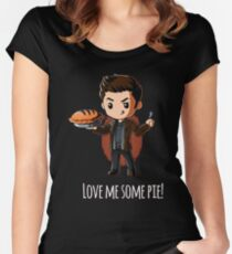love me some it Women's Fitted Scoop T-Shirt