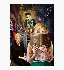Buffy contre les vampires Photographic Print