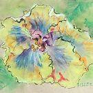 Tropical Hibiscus  by eatdrinkarts