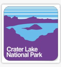 Crater Lake National Park Sticker Sticker