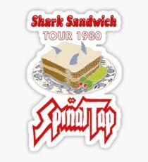Shark Sandwich Tour 1980 Spinal Tap Sticker