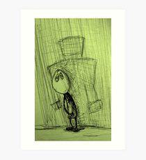 Mr Cellophane Art Print