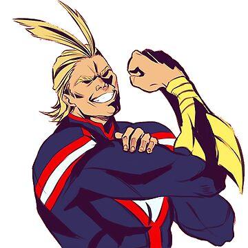 All Might - Bo No Hero Academia by GaiSensei